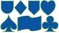Standartformate als Wappen oder geometrische Form