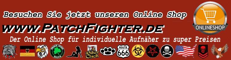 patchfighter aufnäher online shop