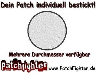 Aufnäher-Rohling-Blanko-Patch-Kreis-mehrere-Größen