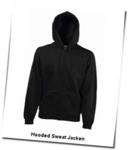 Hooded Sweat Jacken
