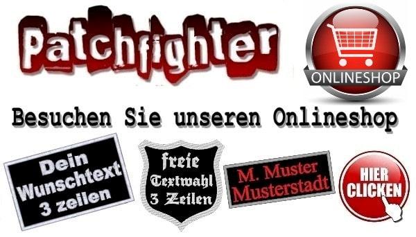 PatchFighter Aufnäher und Textildruck Shop