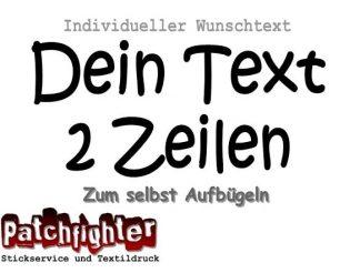 Dein Text Flex 2 Zeilen 20cm 04