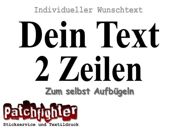 Dein Text Flex 2 Zeilen 30cm