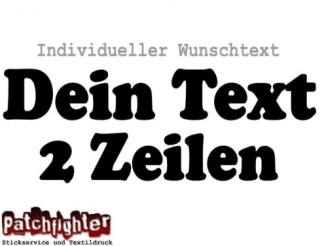 Basteln & Kreativität Bügelbild Bügelmotive Dein Name Dein Text 25 cm Flex Folie