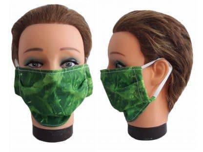 Gesichtsmaske Unisex Rasen Grass Natur Mundmaske wiederverwendbar