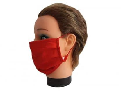 Mundschutz Rot Unisex Atemschutzmaske Baumwolle Staubmaske wiederverwendbar
